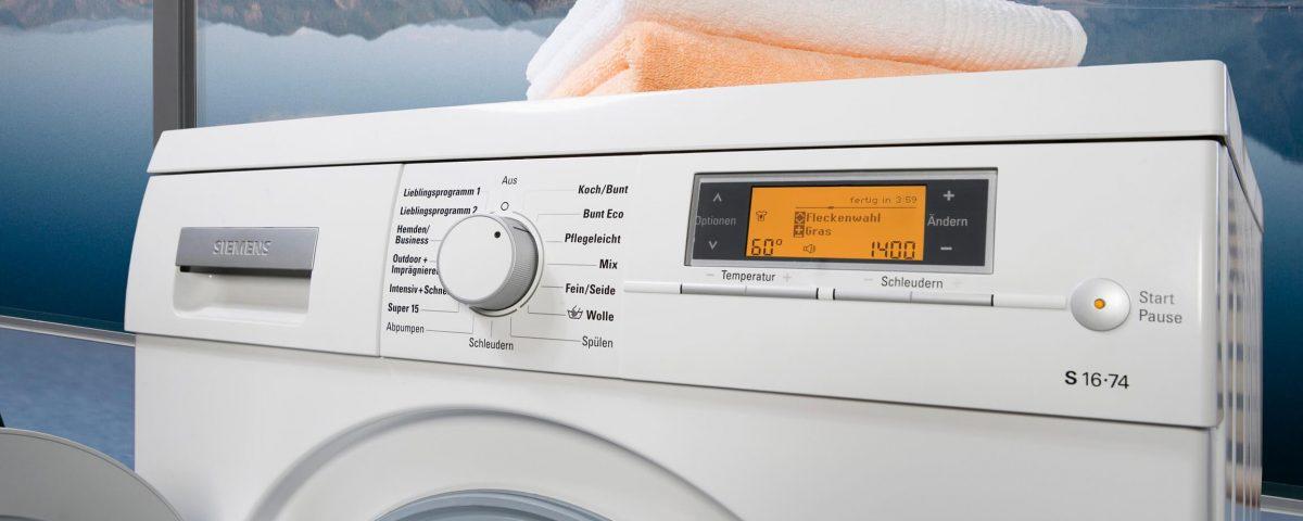 Коды ошибок стиральных машин Siemens