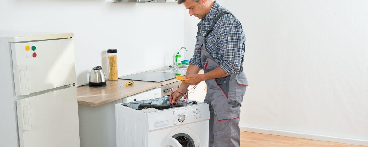 Ремонт клапана стиральной машины
