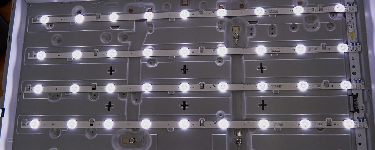 Ремонт подсветки телевизора: когда звук есть, а изображение отсутствует